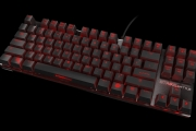 Strike battle compact mechanical keyboard front side 2