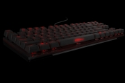 Strike battle compact mechanical keyboard front side 3