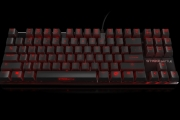 Strike battle compact mechanical keyboard front side 4