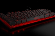 Strike battle compact mechanical keyboard front side 5