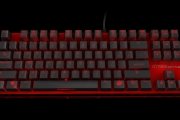 Strike battle compact mechanical keyboard front side 6