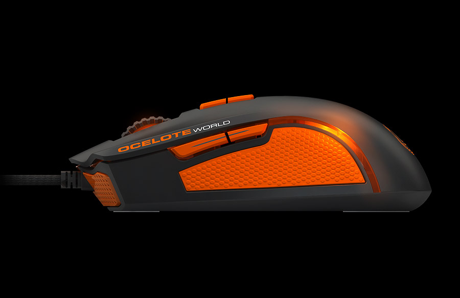 Ozone Argon Ocelote Mouse Lateral side 2