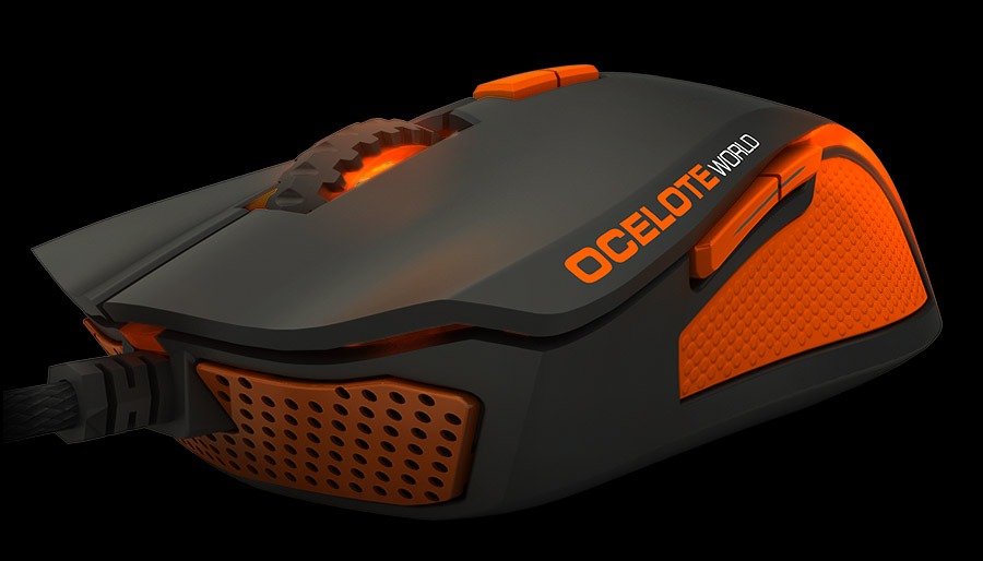 Ozone Argon Ocelote Mouse Front side 2
