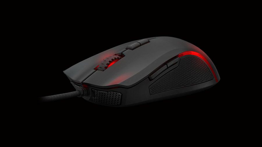 Ozone Argon Gaming Mouse Front side