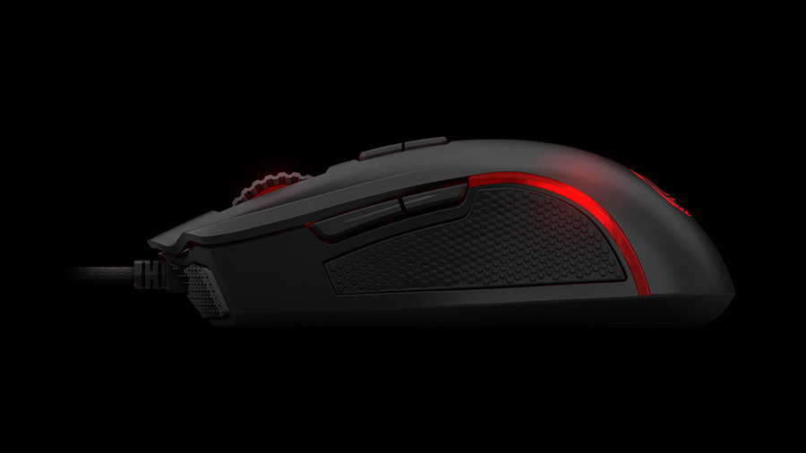 Ozone Argon Gaming Mouse lateral