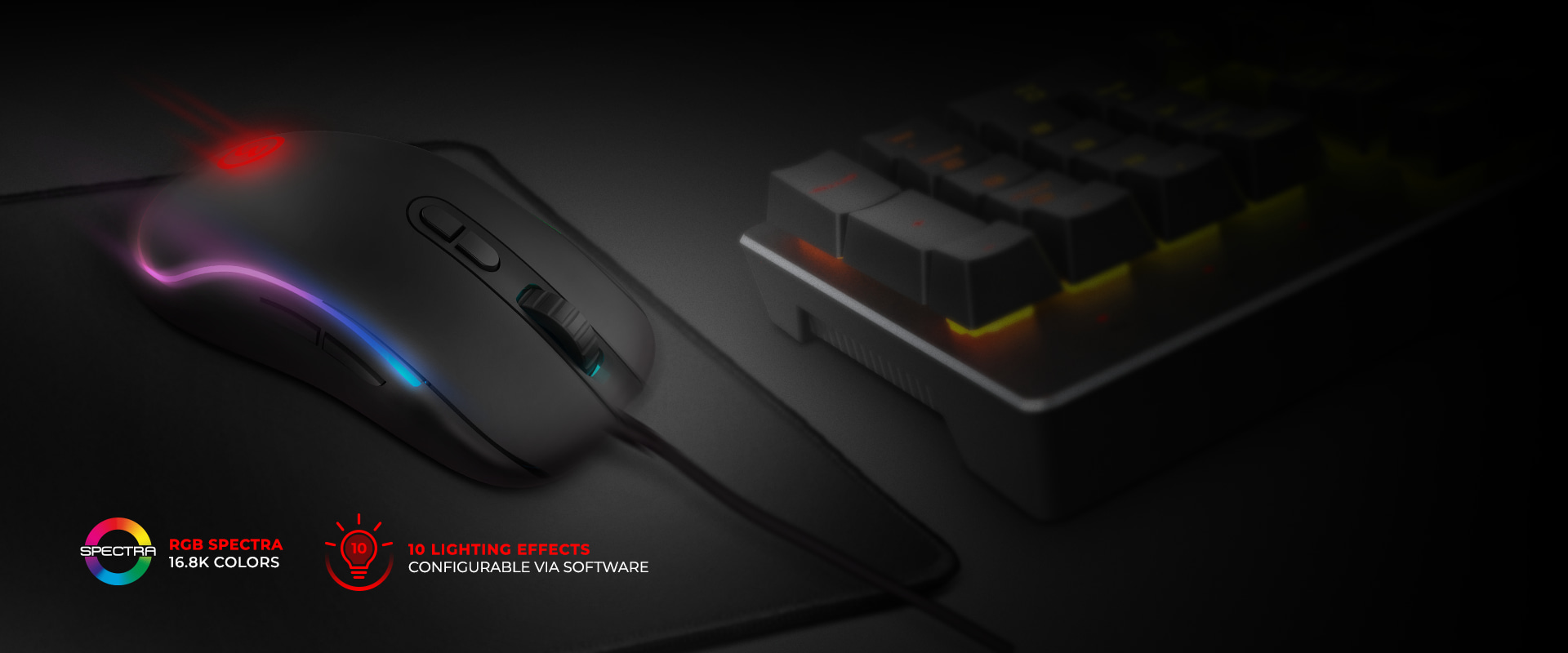 Mouse Neon X20 - Ozone Gaming