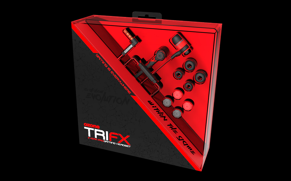 Tri FX Ozone Gaming Packaging